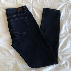 Paige Mid Rise Skyline Skinny Jeans Size 27
